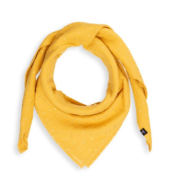 Ponchlin Yellow scarf at Nurture Collective