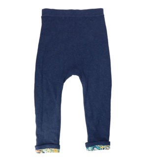 Hunter & Boo Reversible Jogger in Palwan/Navy at Nurture Collective