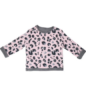 Hunter & Boo Reversible Sweater Yala Pink/Grey at Nurture Collective