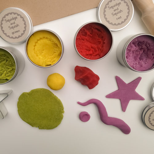Squidge & Squish Eco-Friendly Play Dough Plastic-Free at Nurture Collective
