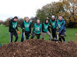 People planting trees for Trees for Cities Charity sponsored by Authentic House with customer purchases part of Maker of the month interview for Nurture Collective