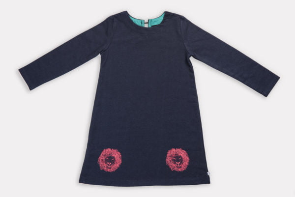 Leela Lion Dress By Cooee Kids at Nurture Collective