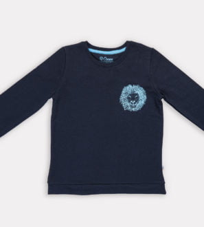 Lee Lion Unisex Sweatshirt by Cooee Kids at Nurture Collective Eco Friendly Kids Fashion