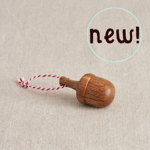 Wooden Christmas tree decoration by Loveheart Wood at Nurture Collective