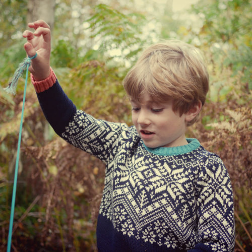 Storyteller Jumper Merino Wool by Faraway Gang at Nurture Collective