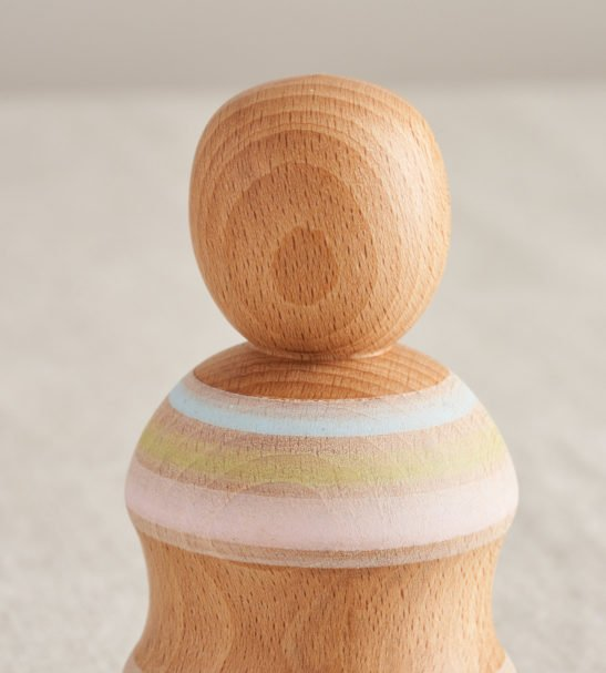 Wooden Peg Dolls, Handmade by Love Heartwood at Nurture Collective