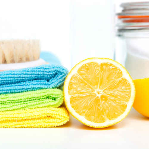 Home Made Cleaning Products for the Nurture Collective Blog