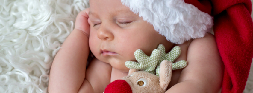 Babys frist Christmas blog by Nurture Collective