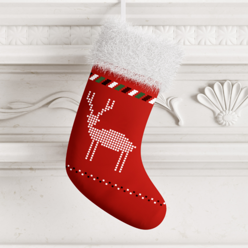 Christmas Stocking a tradition for baby's first Christmas Blog by Nurture Collective