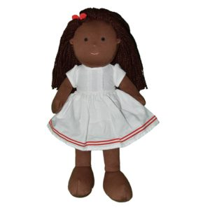 Hearty Hope Soft Black Doll by Dear One World at Nurture Collective