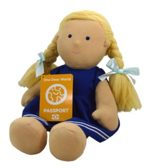 Lively Lea Soft Doll by Dear One World at Nurture Collective