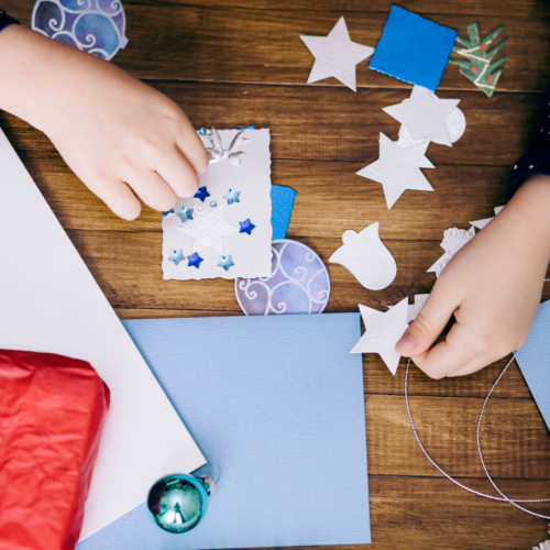Making your own Christmas Card for Nurture Collective Blog