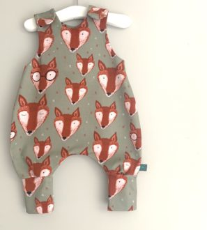 Mr Fox Organic Baby- Toddler Romper by Maebelle & Bo at Nurture Collective