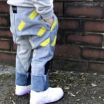 YOYUU Kids Upcycled Rain Drop Jeans at Nurture Collective