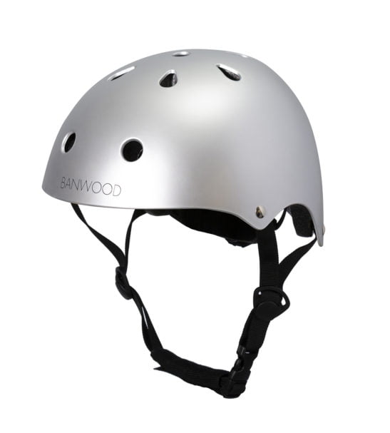 The Banwood Chrome Helmet now available at Nurture Collective