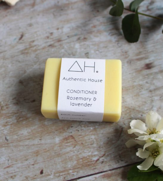 Rosemary & Lavender Conditioner Soap Bar by Authentic House at Nurture Collective