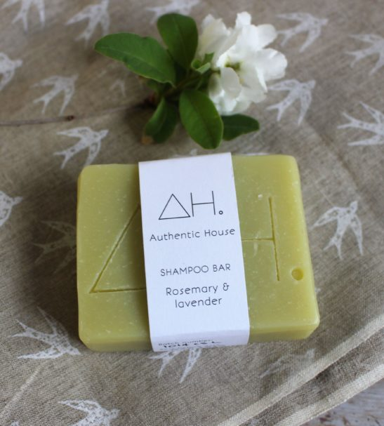 Rosemary & Lavender Shampoo Soap Bar by Authentic House at Nurture Collective