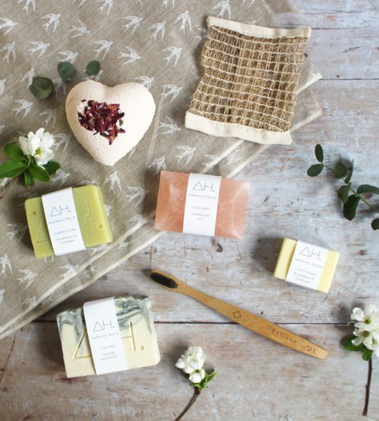 Box of Love Gift box full selection flat lay by Authentic House at Nurture Collective