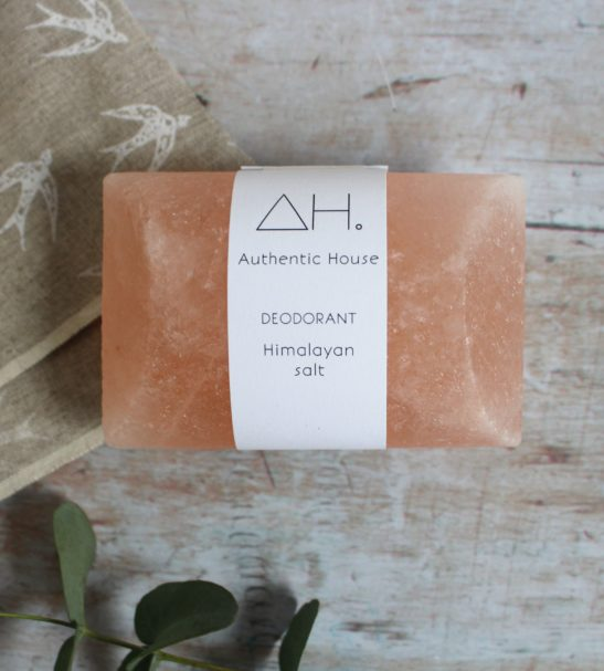 Himalayan Salt Deodorant soap bar by Authentic House at Nurture Collective