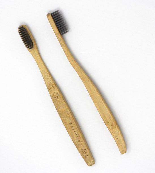 Believe Eco Friendly Wooden Toothbrush by Authentic House at Nurture Collective
