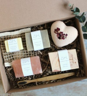 Valentines Box of Love for Mamas Eco Friendly Products by Authentic House at Nurture Collective