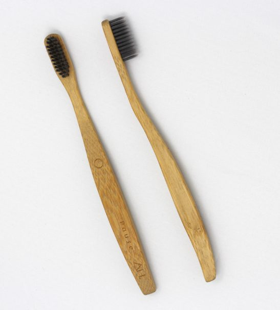 Pause Eco Friendly Wooden Toothbrush by Authentic House at Nurture Collective