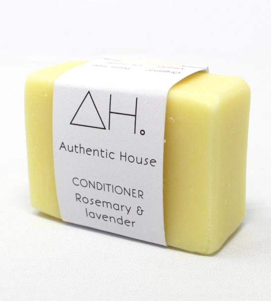 Rosemary Lavender Conditioner Soap Bar Eco Friendly Products by Authentic House at Nurture Collective