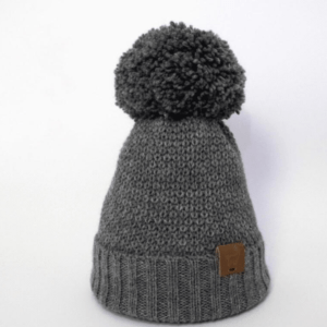 Adult Alpaca Waffle knit Hat by Ted & Bessie at Nurture Collective