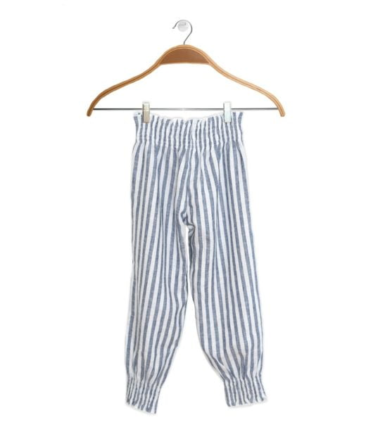 Front of Jasmine Stripes Pants by Peter Jo at Nurture Collective