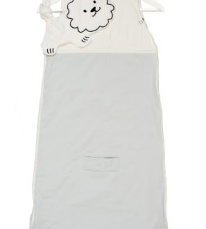 Simple savannah bamboo sleeping bags in Grey by Little Earth Baby at Nurture Collective