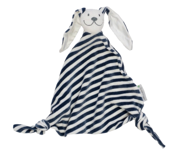 Stripy Bunny Organic Comforters by Little Earth Baby at Nurture Collective