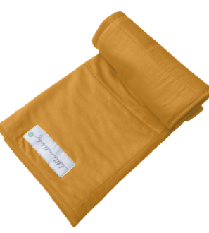 Bamboo baby blanket, Saharan sunset by Little Earth Baby at Nurture Collective