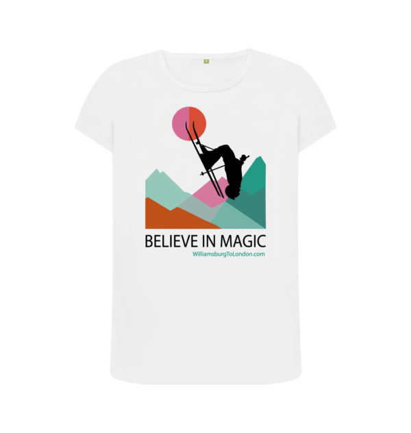 Believe in Magic Organic T-Shirt for Women at Nurture Collective