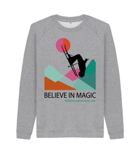 Believe in Magic Organic Sweater for Women at Nurture Collective