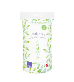 Bambino Mio, Supersoft Mioliners (biodegradable nappy liners) 1x160 Pack at Nurture Collective