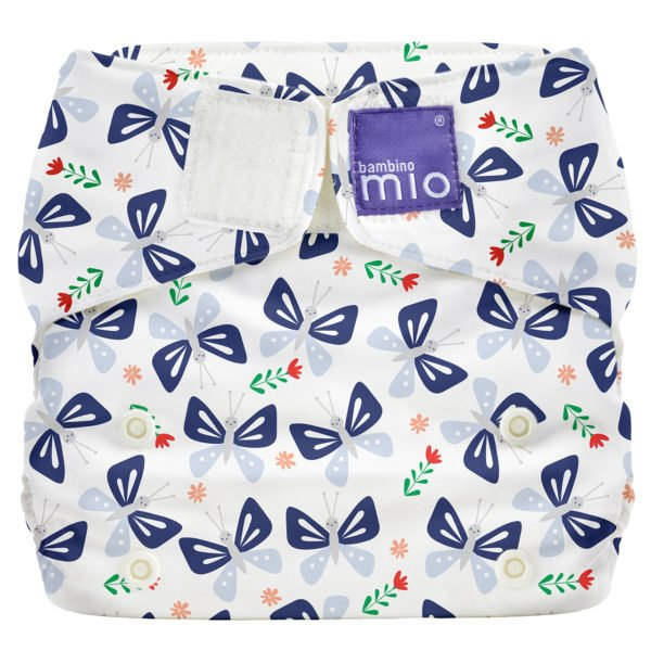 BAMBINO MIO MIOSOLO ALL-IN-ONE REUSABLE NAPPY, Butterfly Bloom at Nurture Collective