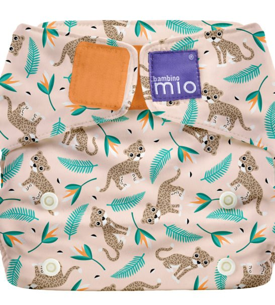 BAMBINO MIO MIOSOLO ALL-IN-ONE REUSABLE NAPPY, WILD CAT at Nurture Collective