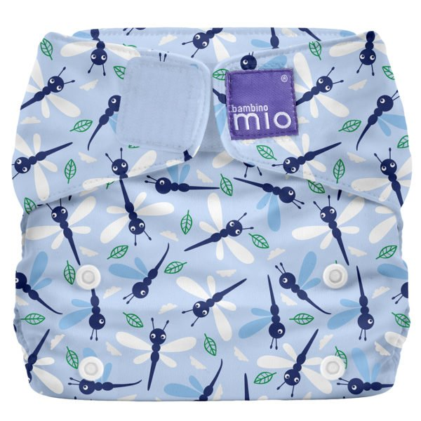 BAMBINO MIO MIOSOLO ALL-IN-ONE REUSABLE NAPPY, Dragonfly Daze at Nurture Collective