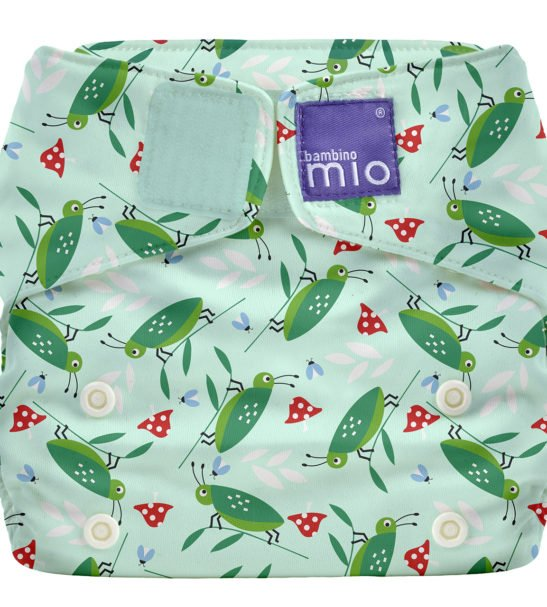 BAMBINO MIO MIOSOLO ALL-IN-ONE REUSABLE NAPPY, HAPPY HOPPER at Nurture Collective