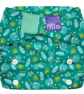 BAMBINO MIO MIOSOLO ALL-IN-ONE REUSABLE NAPPY, HUMMINGBIRD at Nurture Collective
