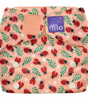 BAMBINO MIO MIOSOLO ALL-IN-ONE REUSABLE NAPPY, Loveable Lady Bug at Nurture Collective
