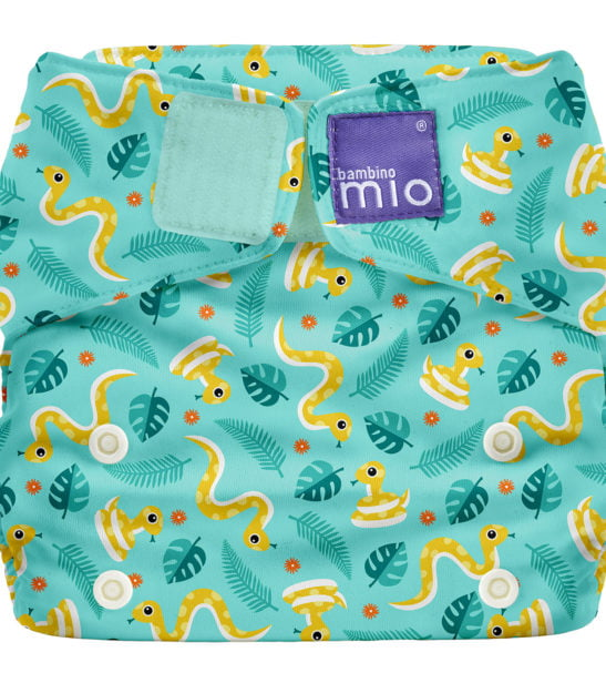 BAMBINO MIO MIOSOLO ALL-IN-ONE REUSABLE NAPPY, Jungle Snake at Nurture Collective