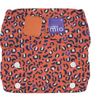 BAMBINO MIO MIOSOLO ALL-IN-ONE REUSABLE NAPPY, Safari Spots at Nurture Collective