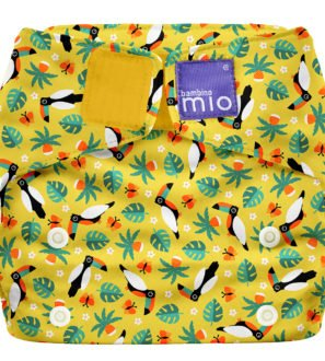 BAMBINO MIO MIOSOLO ALL-IN-ONE REUSABLE NAPPY, Tropical Toucan at Nurture Collective