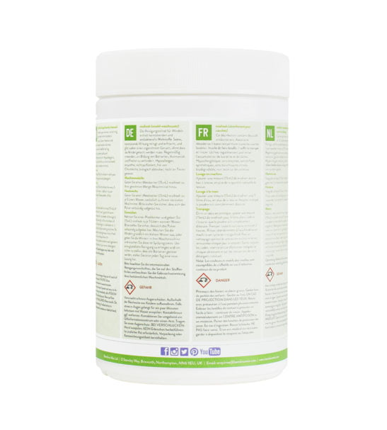 BAMBINO MIO MIOFRESH (NAPPY/LAUNDRY CLEANSER), 750G Single back view at Nurture Collective