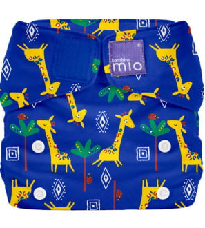 Bambino Mio all in one Giraffe Jamboree Reusable Nappy at Nurture Collective