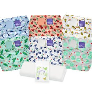 BAMBINO MIO MIOSOLO REUSABLE NAPPY SET, Bugs Life at Nurture Collective