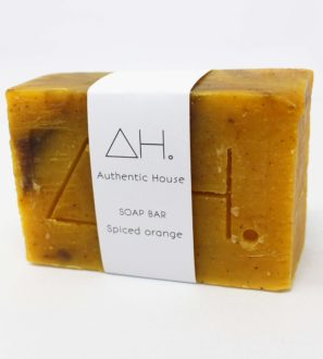 Spiced orange soap at Nurture Collective