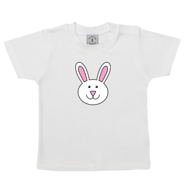 Short Sleeved Bunny T-shirt by Tommy & Lottie at Nurture Collective
