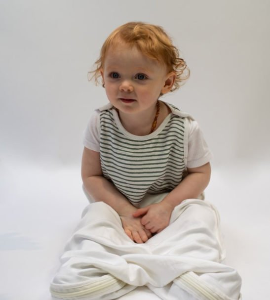 Tropical Nights Bamboo Sleeping Bag by Little Earth Baby at Nurture Collective